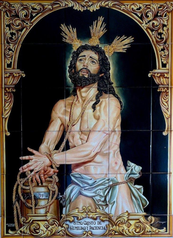 Stmo. Cristo De Humildad Y Paciencia, Martos (Jaén) 82,5cm X 60cm